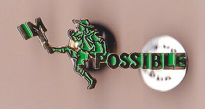 """SCOUTS OF CHINA (TAIWAN) - BADEN POWELL SCOUTING FOR BOYS """"IMPOSSIBLE"""" Pin Patch"""
