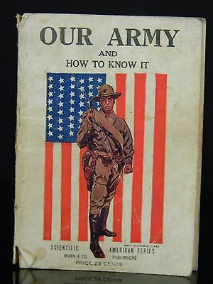 """Rare WW1 1917 """" Our Navy And How To Know It """" By James Montgomery Flags"""