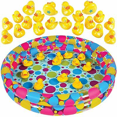 Duck Pond Fastival/Carnival Party Match Game for Kids Includes 20 Plastic Ducks