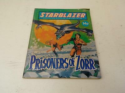 Starblazer Comic No.51 Prisoners of Zorr