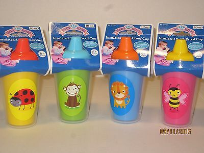 Spill-Proof Insulated Sippy Cup - BABY KING, Toddlers, Double-Walled BPA Free,