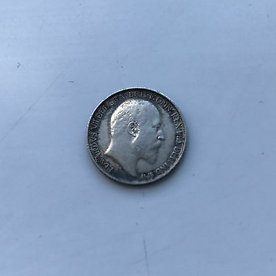 Silver Sixpence 1908 Coin King Edward Vii Good Very Fine Grade