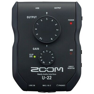 ZOOM U22 - Interfaccia Audio USB 2in/2out