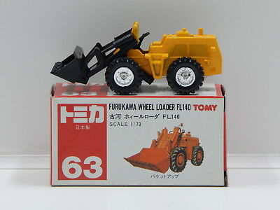 1:79 Furukawa Wheel Loader FL140 - Made in Japan Tomica 63