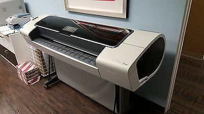 HP Designjet T1100PS 44-in Plotter Refurbished with Stand & Full Set of INK