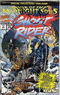 1992 Ghost Rider #31 Rise Of The Midnight Sons ( Bagged With Poster ) Marvel Vf