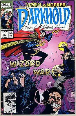 1992 Darkhold #6-10 Rise Of The Midnight Sons ( Set Of 5 Issues ) Marvel Vf