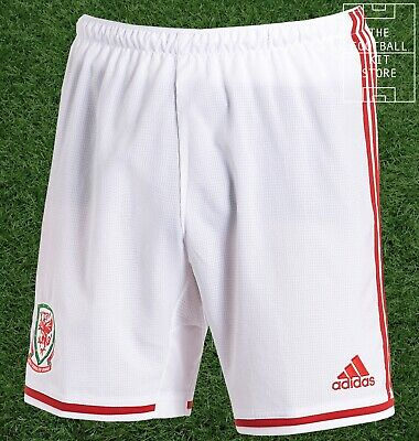 Wales Away Shorts - Official adidas Boys Football Shorts - All Sizes
