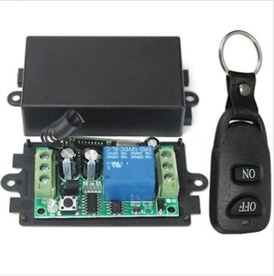 DC 12V 10A Relay 1CH Channel Wireless RF Remote Control Switch Transmitter With