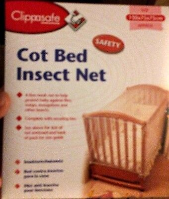 Universal Cot Cot/Bed Insect Net White 150 x 75 x 75 cm