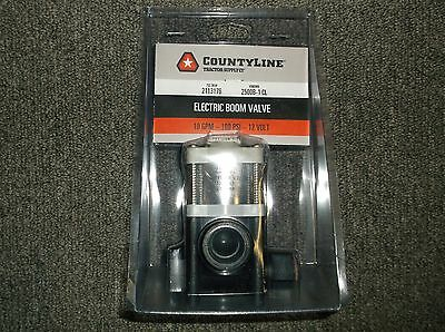 Countyline Electric Boom Valve Valve 2113176 2500B-1 Cl, **free Shipping**