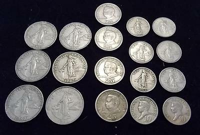 18 Philippines Coin Lot Republika Ng Pilipinas - Central Bank Of The Philippines