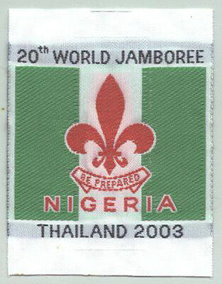 2003 World Scout Jamboree AFRICA NIGERIA SCOUTS Contingent Patch