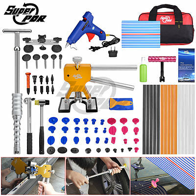 AU STOCK 79pc PDR Tools Paintless Dent Removal Repair Dent Lifter Slide Hammer