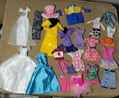 BARBIE Doll clothes Lot Pink and Purple Label