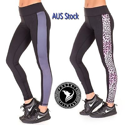 PHX Fit Ladies Activewear Gym Pants Excerise Jogging Running Leggings RRP $49.95