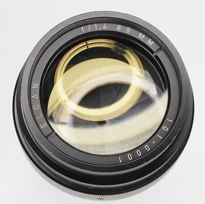 Leitz Elcan 65mm f1.4  #1010001 ............ Extremely Rare !!!