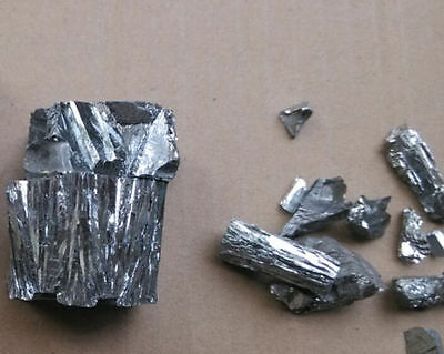 10 grams High Purity 4N 99.99% TELLURIUM Te Metal Lumps Vacuum packing