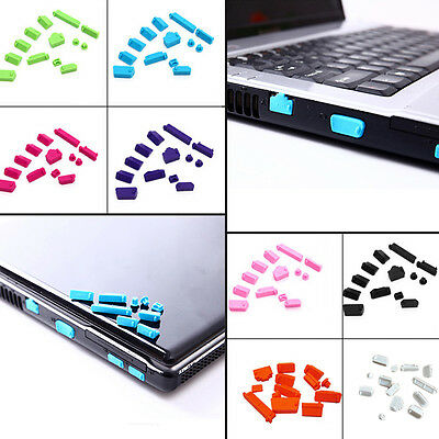 13 Silicone Protective Anti-Dust USB Port Plug Cover Stopper for Laptop Notebook