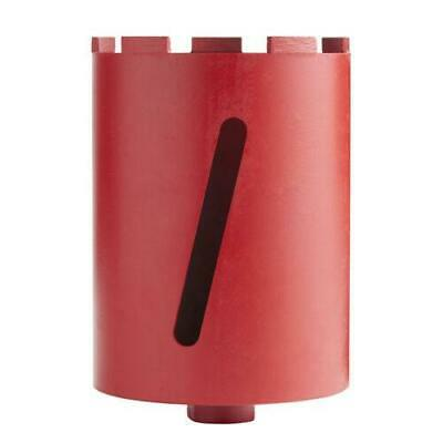 """DTW 152mm 1/2""""BSP Professional Slotted Dry Diamond Core Drill Bit"""