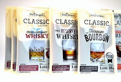 6PACK Still Spirits Classic essence YOU CHOOSE whisky bourbon rum gin scotch