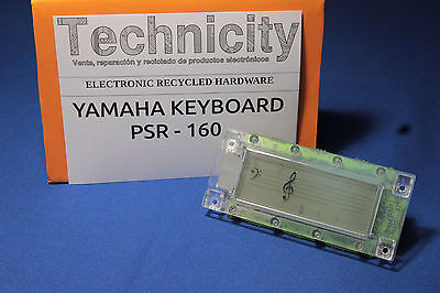Yamaha Psr -160 - Lcd Screen - Pantalla Lcd   - Original