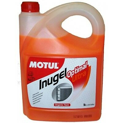 MOTUL Liquido anticongelante INUGEL OPTIMAL ULTRA 5L
