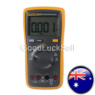 Fluke 12E+ AC DC Voltage Current Auto Range Handheld Digital Multimeter Meter AU