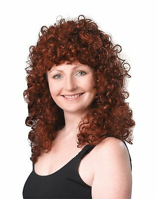 Curly Long Ginger Budget Wig