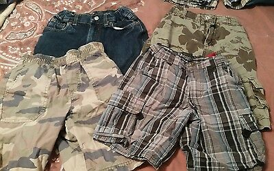 Lot of  boys shorts size 6 - 4 pairs total