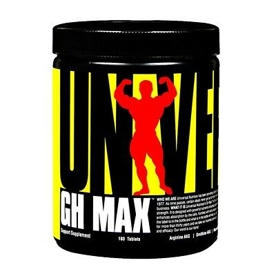 GH Max 180 tabs - Universal - Anabolics