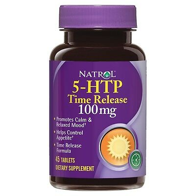 5-HTP Time Release 100mg 45 tabs - Natrol - Complejo