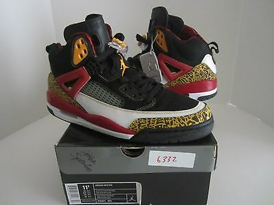 hot sale online ad2a9 97d48 ... 2007 Nike Air Jordan SPIZIKE KING COUNTY BLACK TAXI RED WHITE GOLD SIZE  11.5 NEW ...