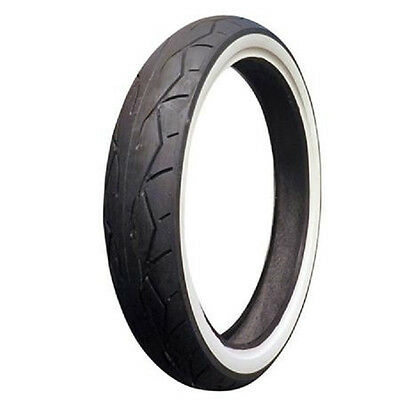 "Vee Rubber 26"" White Wall Front Tire 120/50-26 Harley Road King Street Glide Cvo"