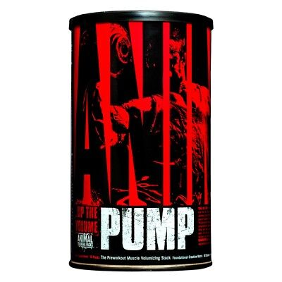 Animal Pump 30 packs EU - Universal - Pre Workout con cafeina