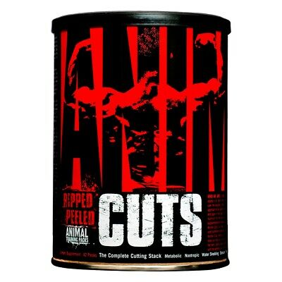 Animal Cuts 42 Packs EU - Universal - Termogenico, quemador de grasa