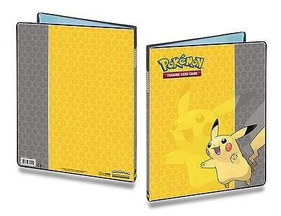 Ultra Pro - Pikachu Pokemon Portfolio Folder Binder Album 9 Pocket Pages
