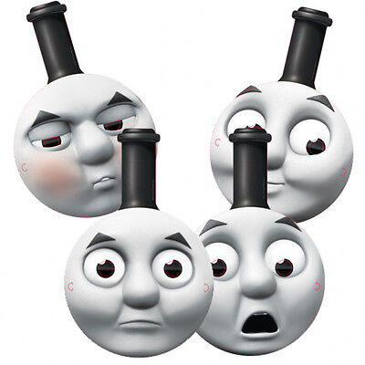 Thomas the Tank Engine 4 Card Masks Birthday Children Party Bag Fillers