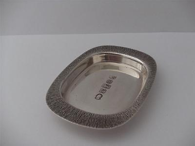 HALLMARKED STERLING SILVER PIN TRAY DISH Sheffield 1977