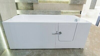Walk In Bathtub Amber,side Door,low Entry 5,5'', Full Lenght Tub, Mobility Aid