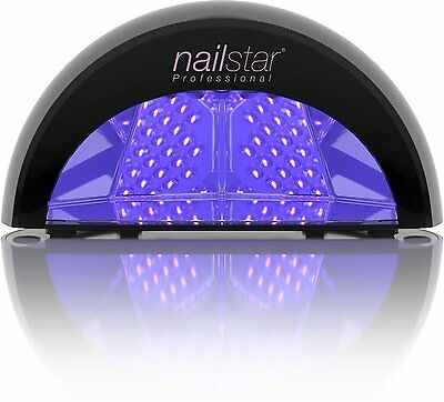 NailStar® Professional LED Nail Lamp Dryer for Gel Polish with 30sec, 60sec, and