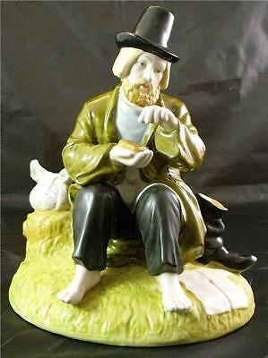 Hand Painted Russian Porcelain Tramp Figurine