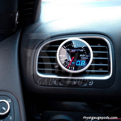 VW Golf MK6 52mm - Soporte Manometro Aireador / Gauge Holder Air Vent Pod
