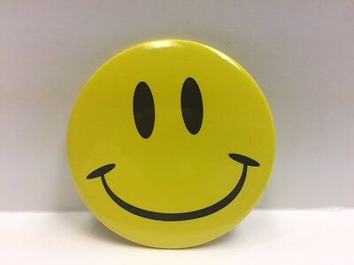 Rare Walmart Smiley Button Brand New
