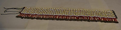 Belt Shells Coin Akha Tribal Women Cloth Shells Square Coins Belt