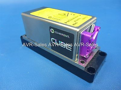Coherent Cube Violet Laser 402 nm @ 55 mw (90 mw Max)
