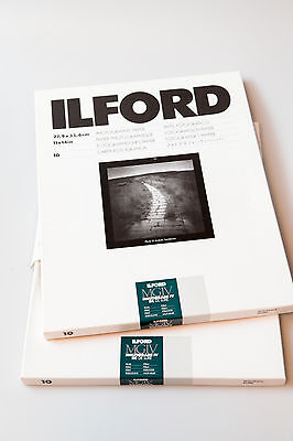 Ilford Multigrade IV RC paper in Satin 8x10 and 11x14
