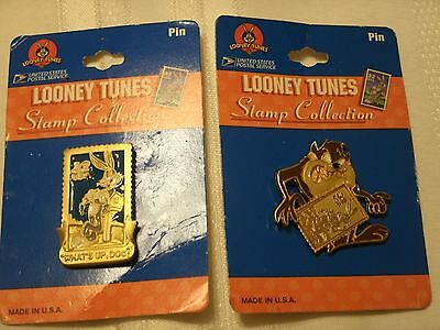 USPS Looney Tunes Stamp Collection Pins 1997 2 pins