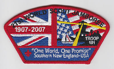 2007 World Scout Jamboree USA BOY SCOUTS OF AMERICA SOUTHERN NEW ENGLAND JSP