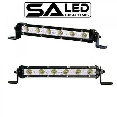 Pair 7Inch Super Slim 30W Cree Led Light Bar Combo Work Offroad Driving Lamp
